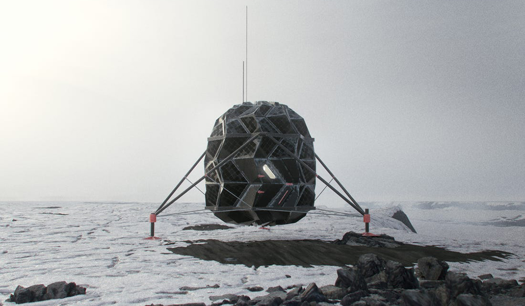 Researchers test lunar habitat in northern Greenland