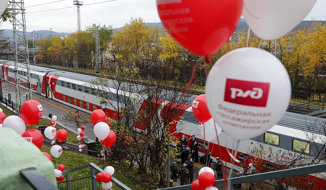 Murmansk gets modern train connection