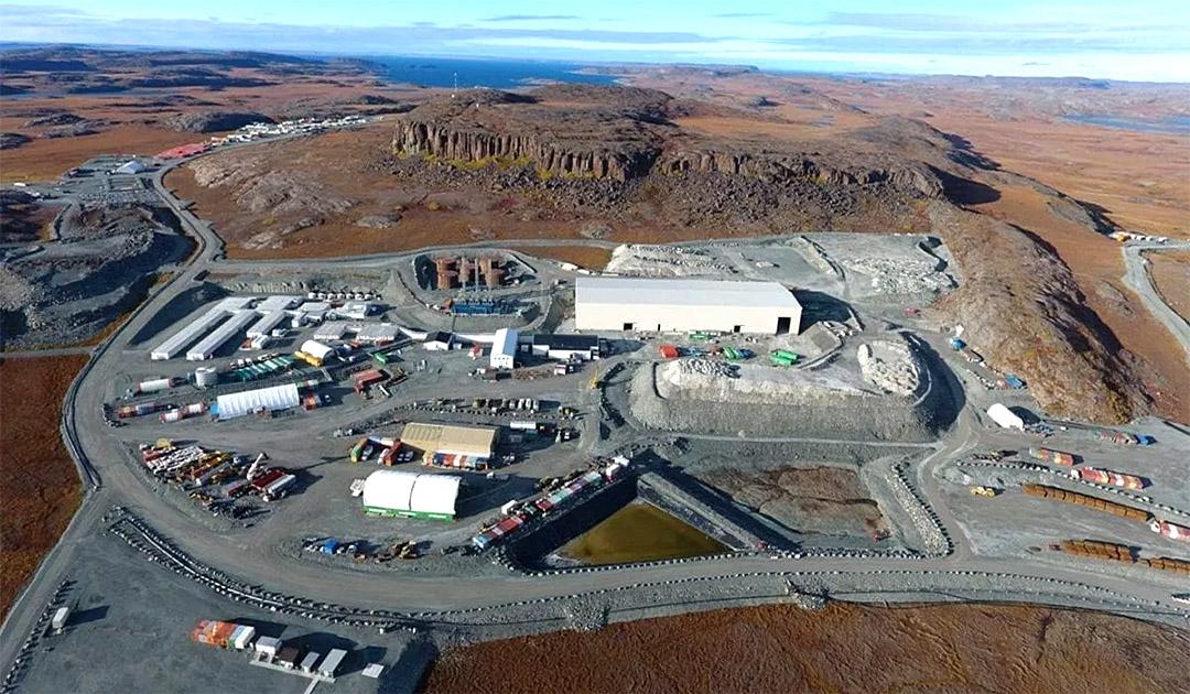 COVID-19-Fälle in Nunavuts Bergbau