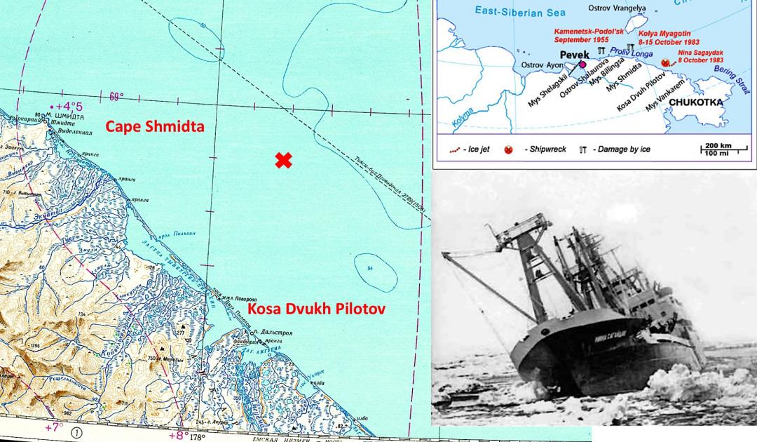 Der Untergang der «Nina Sadaigak» in der Nordostpassage