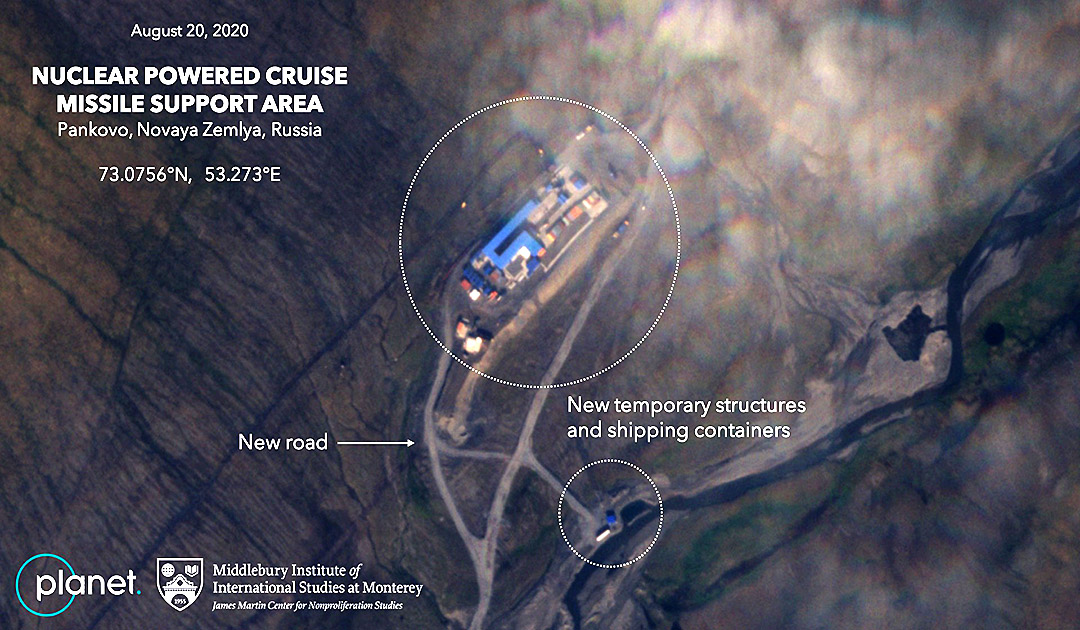 New test site for cruise missiles