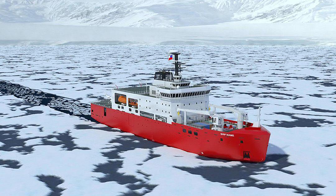 Chile baut neuen Eisbrecher