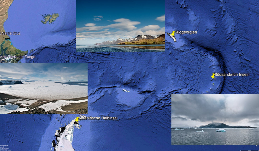 Microplastics to the Antarctic seabed