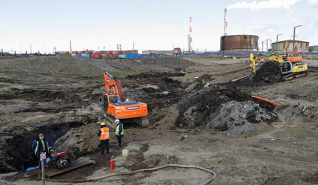 Permafrost nicht Ursache der Ölkatastrophe in Norilsk