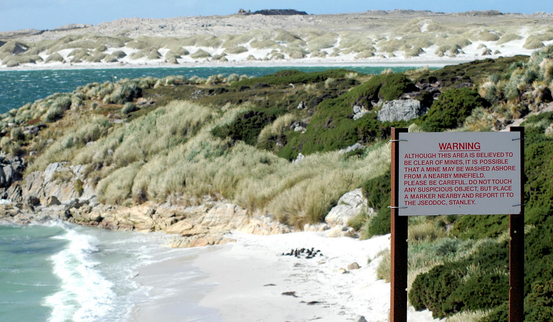 Falklands officially landmine-free as of Saturday