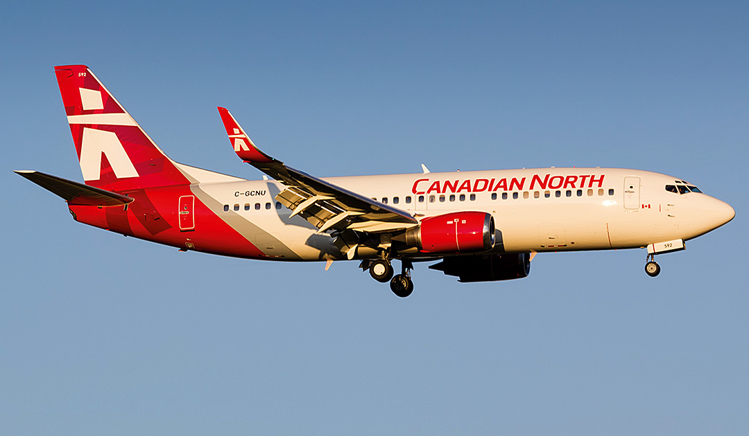 Upcoming flights between Canada and Greenland?