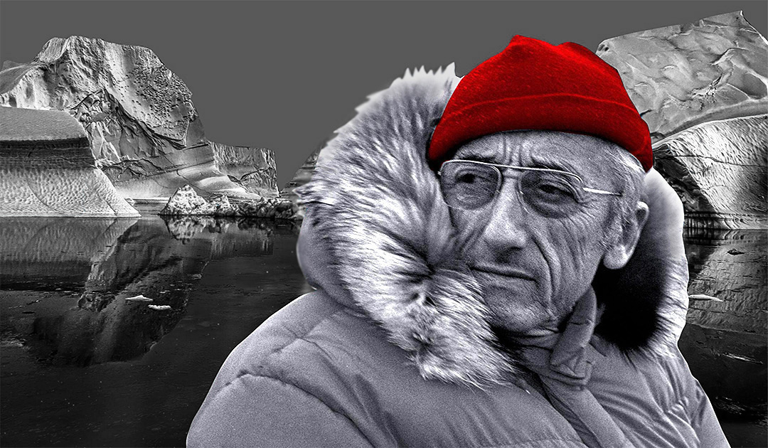 Jacques-Yves Cousteau – The one with the bobble hat