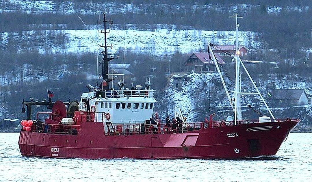Schiffsuntergang vor Nowaja Zemlya