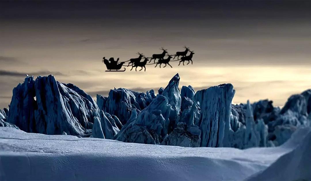 Der Weihnachtsmann wohnt in Grönland
