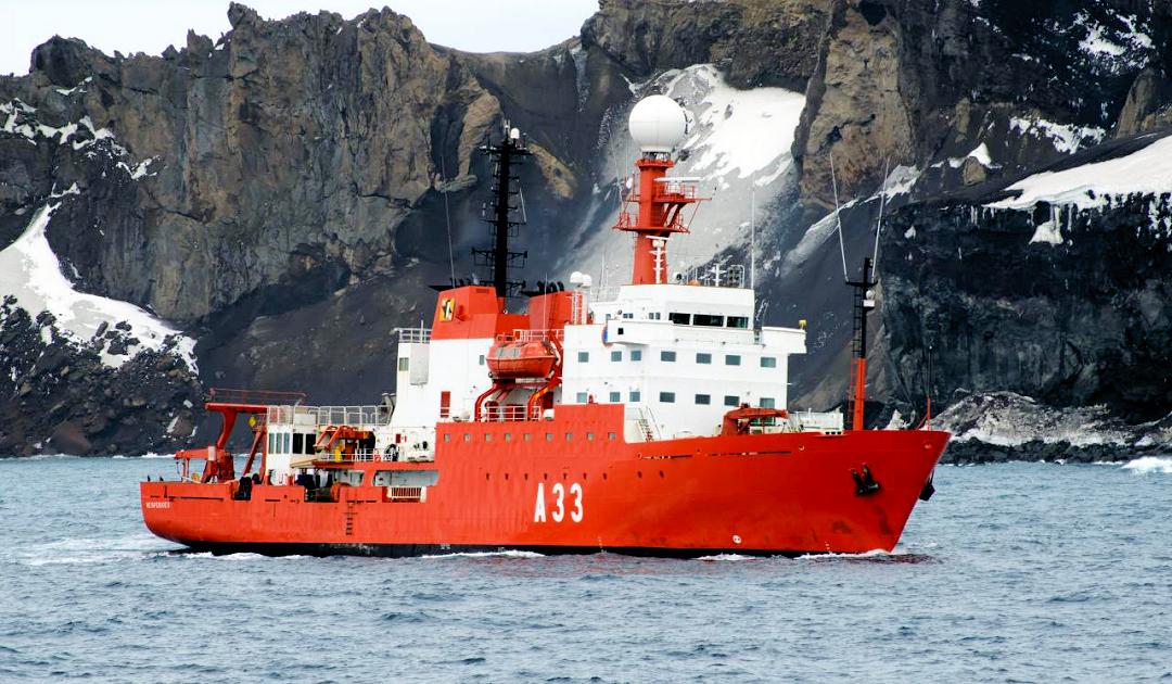 COVID-Ausbruch auf spanischem Antarktisschiff