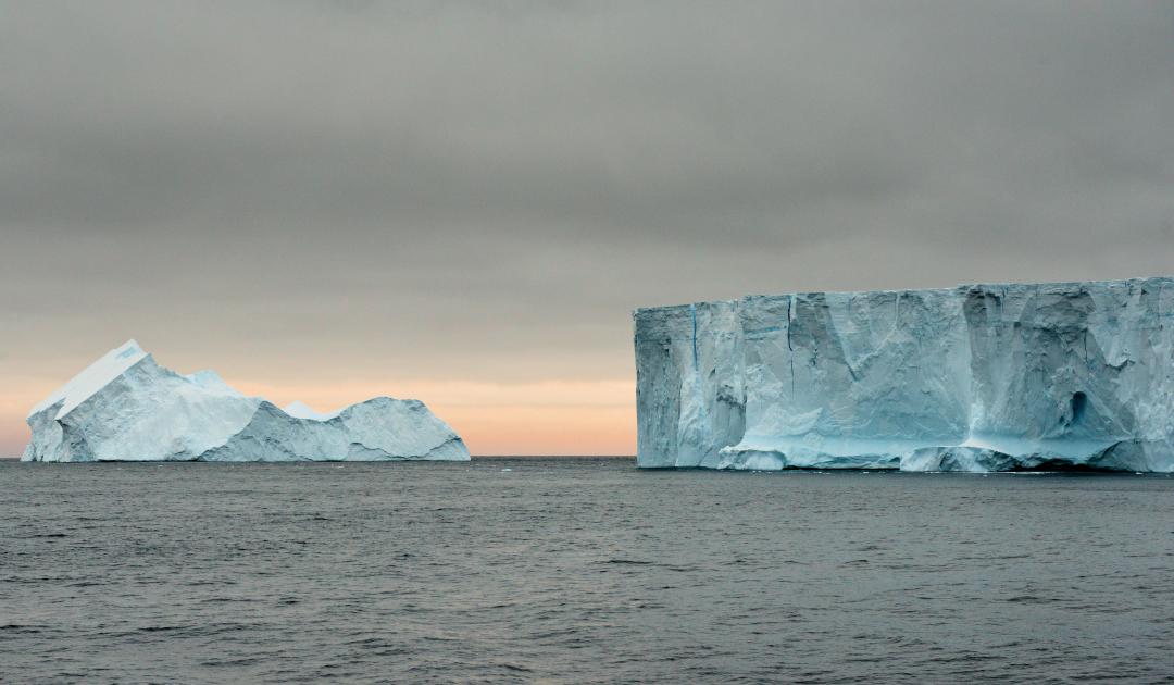 Eisberge wanderten einst bis Südafrika