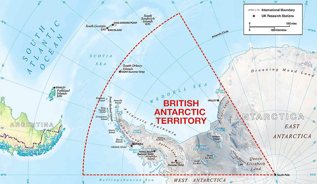 28 neue Gebietsnamen in der Antarktis