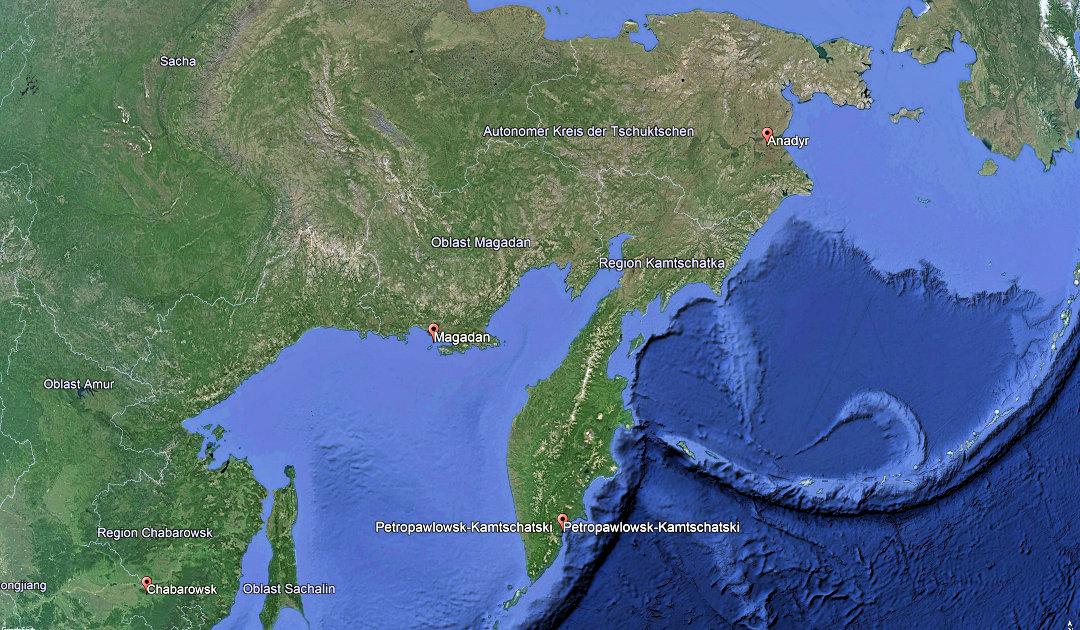Russlands Ferner Osten und seine COVID-Zahlen
