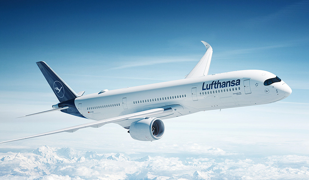Lufthansa flies non-stop to the Falklands