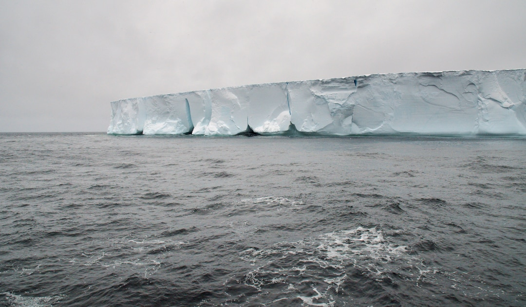 Icebergs melt quite differently than expected