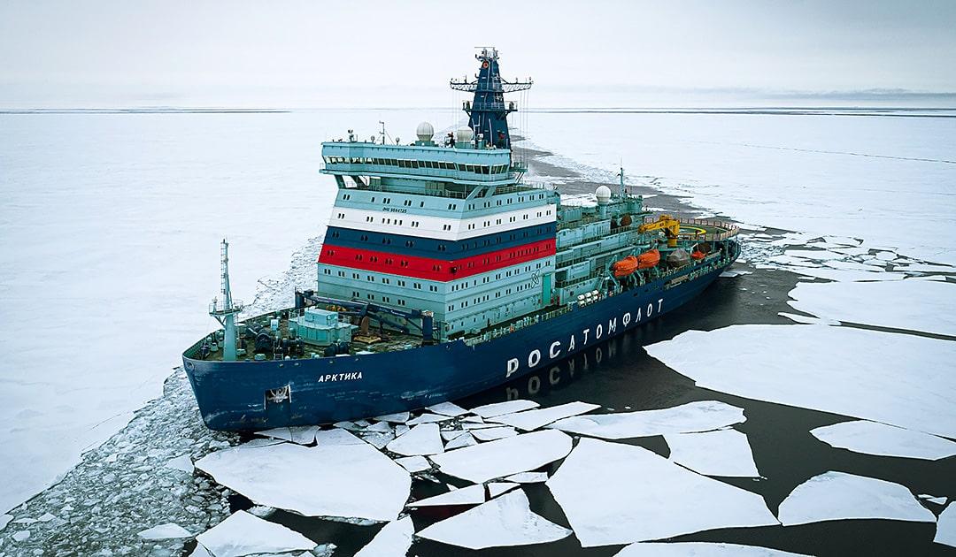 Eisbrecher «Arktika» wieder flott