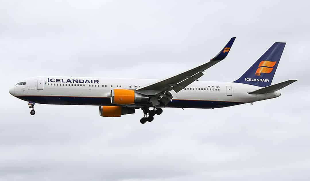Icelandair en route to Antarctica