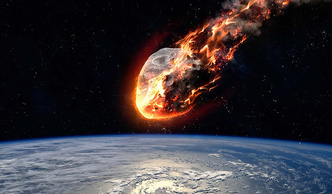 250 million years ago a meteorite hit Antarctica