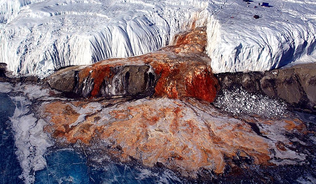 Blood-Falls in der Antarktis