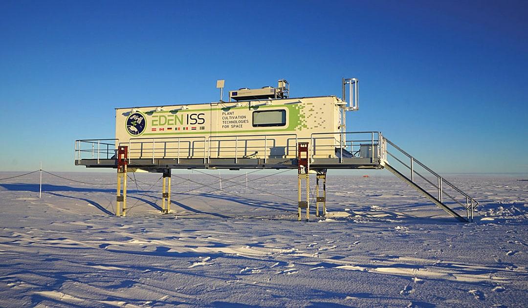 EDEN-ISS, das Gewächshaus in der Antarktis
