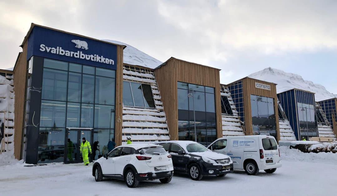 Facelifting für Svalbard's grössten Supermarkt