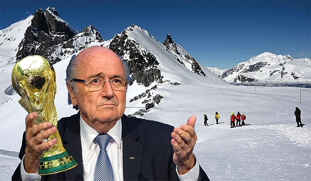 Blatter wollte Fussball-WM 2026 in die Antarktis vergeben