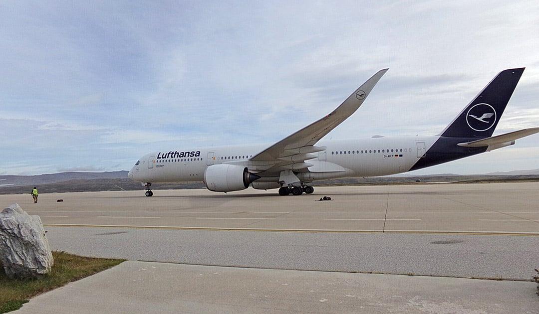 Lufthansa fliegt erneut zu den Falklands