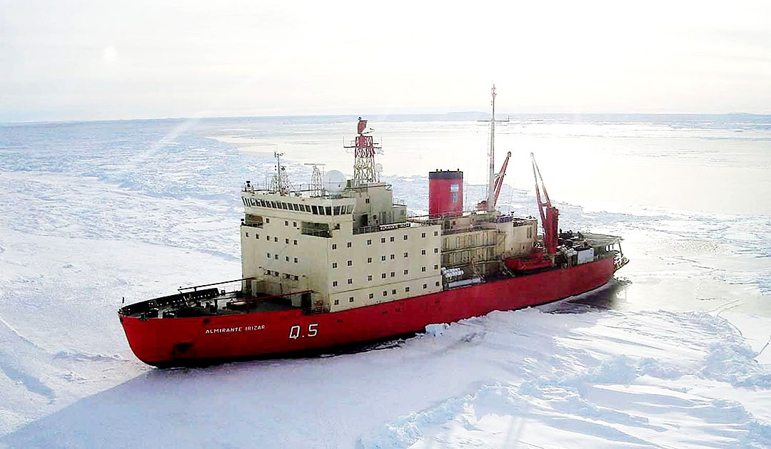 Argentina ended its Antarctic campaign