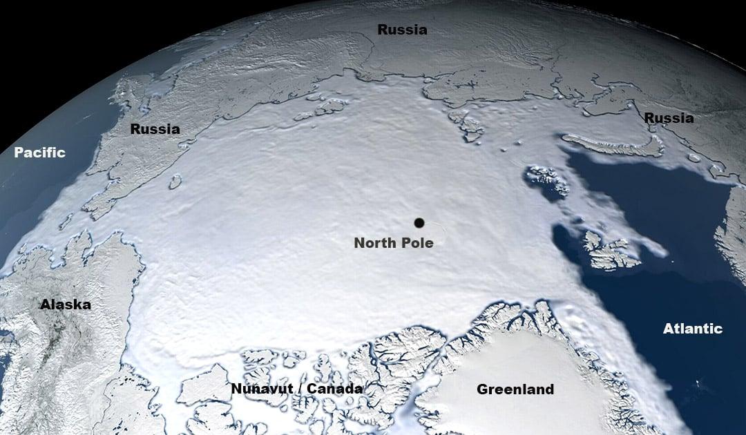 Arktis –Messungen vom Winter-Meereis 2020/21