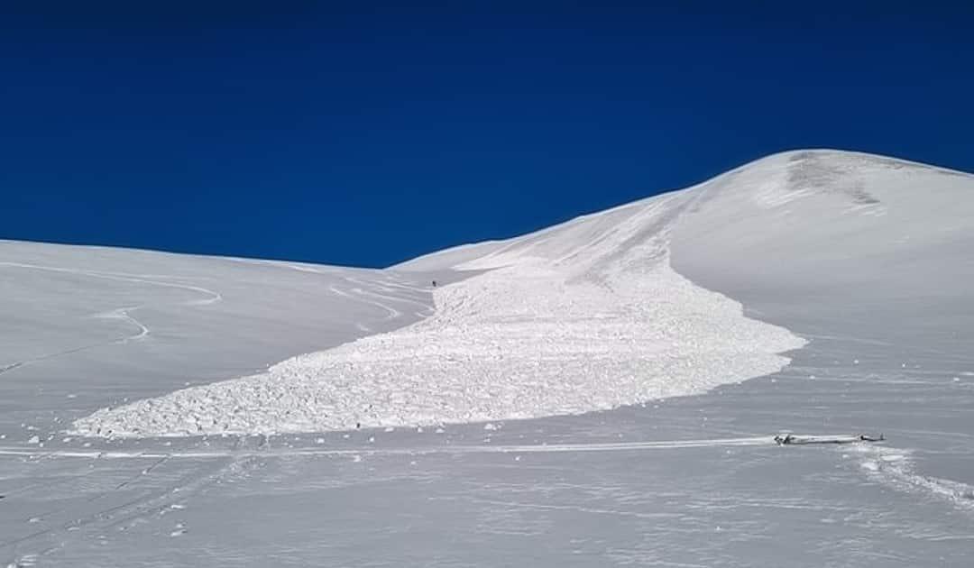 Tense avalanche situation around Longyearbyen