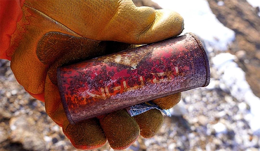 Coca-Cola und Kaugummi Funde in der Antarktis