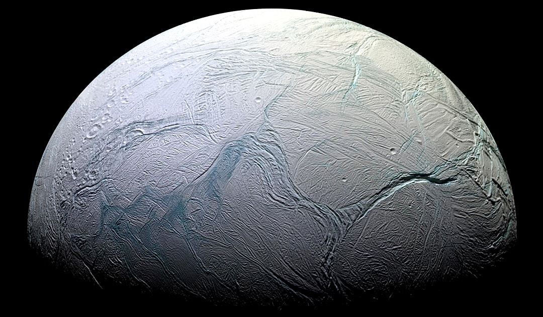 Enceladus could have ocean currents like Antarctica