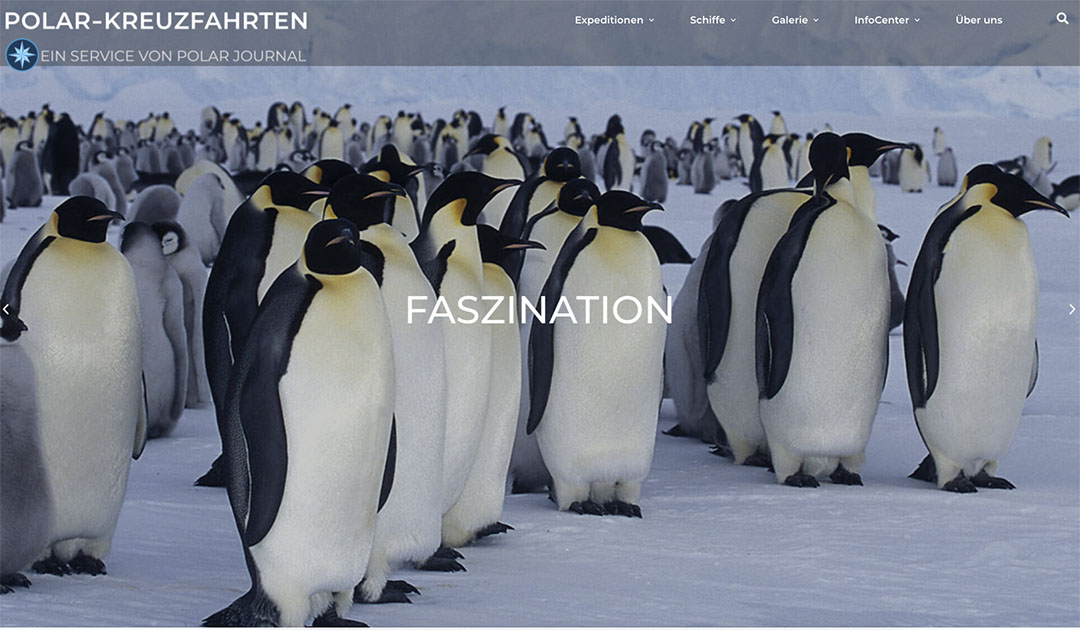 Unsere neue Webseite: Polar-Kreuzfahrten