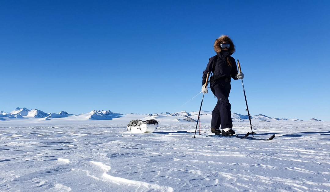 "Solo to the South Pole – ""Not bad for a girl!"""