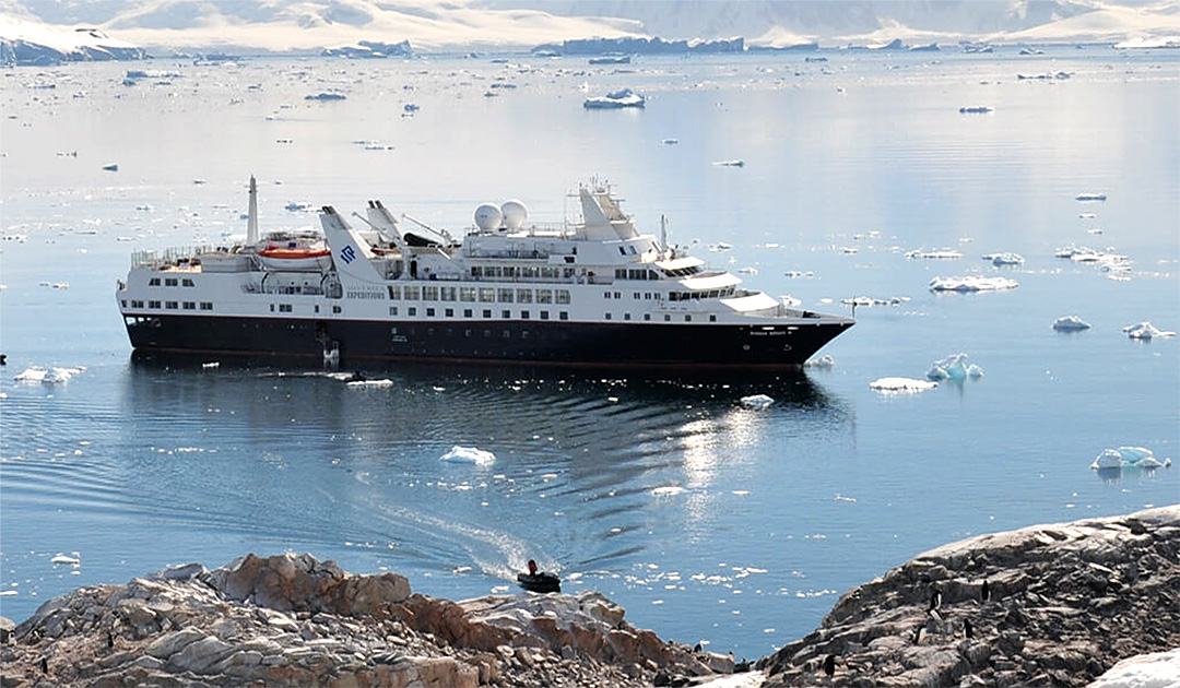 Silversea – neu ab Puerto Williams in die Antarktis
