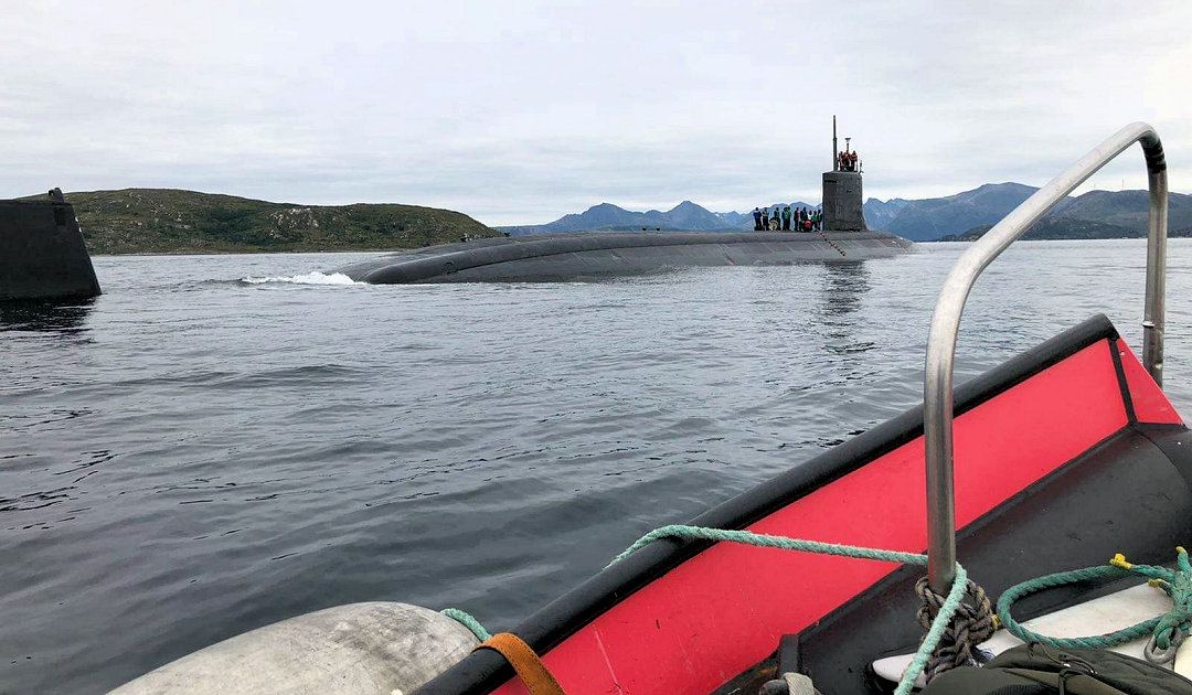 Nuclear submarines near Tromsø in the future