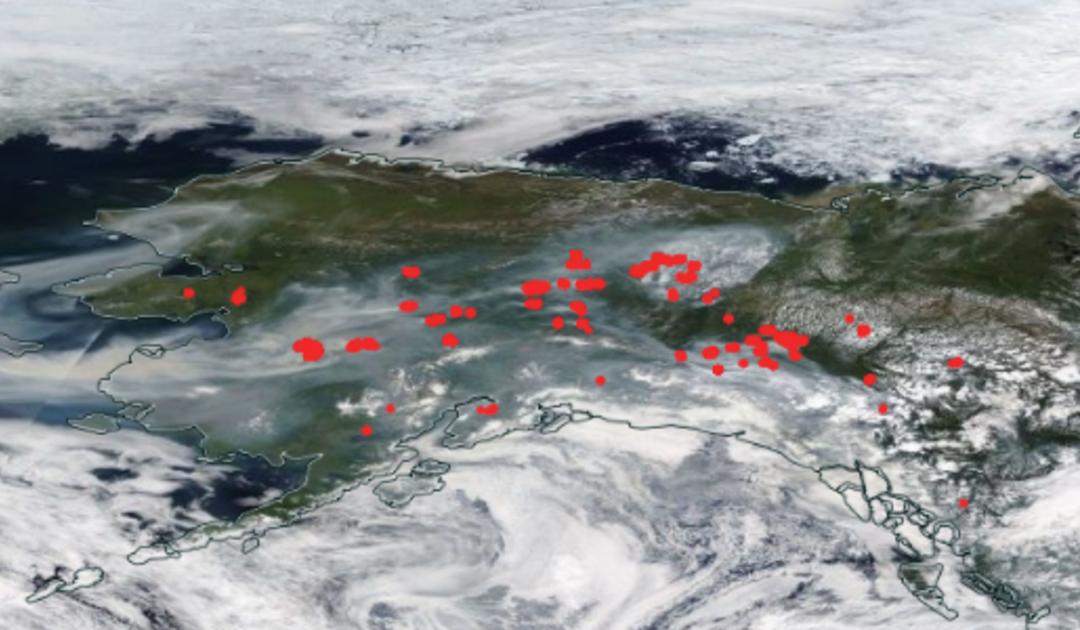 Hitzewellen, Waldbrände und Zombie-Feuer in der Arktis