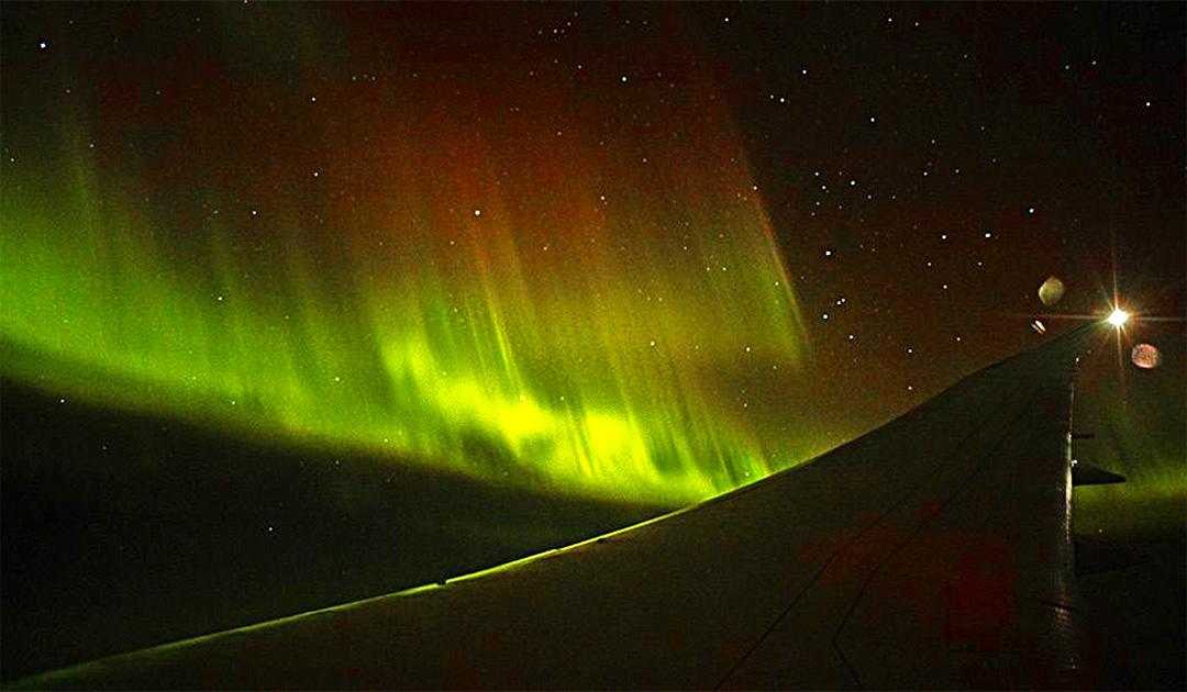 Qantas in pursuit of Aurora Australis