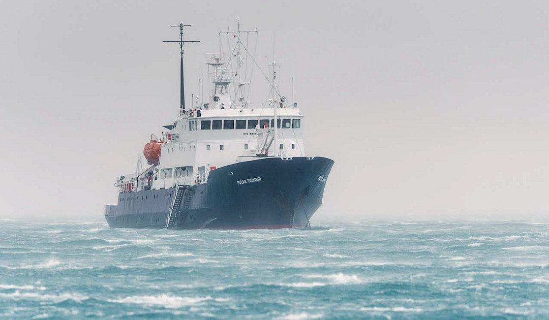 Eine Pionierin kehrt zurück in die Polarwelt