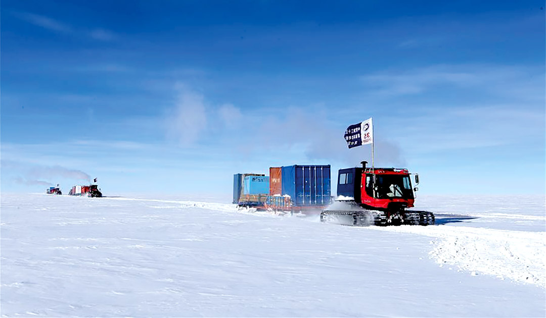 Machtkämpfe in der Antarktis
