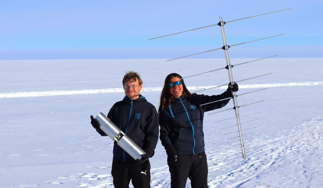 Astrophysiker jagen seltene Teilchen in Grönlands Eis