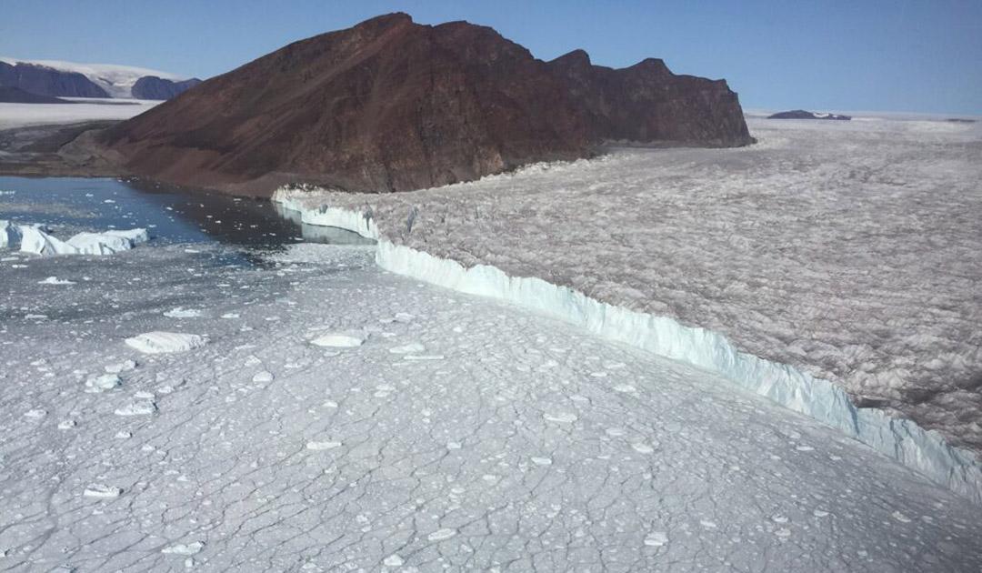 Unterwasser-Seismometer hört Gletscherbewegungen zu