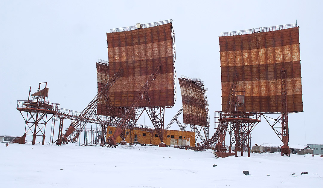 Scrap metal from the Arctic could be reprocessed