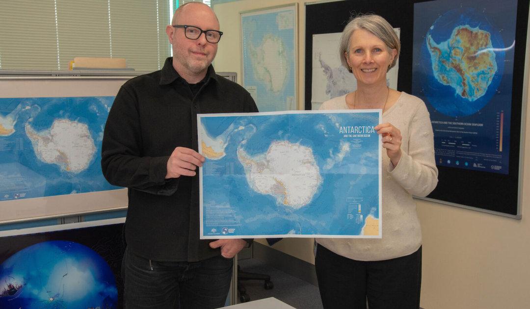 Neue Antarktis-Karte mit noch mehr Details