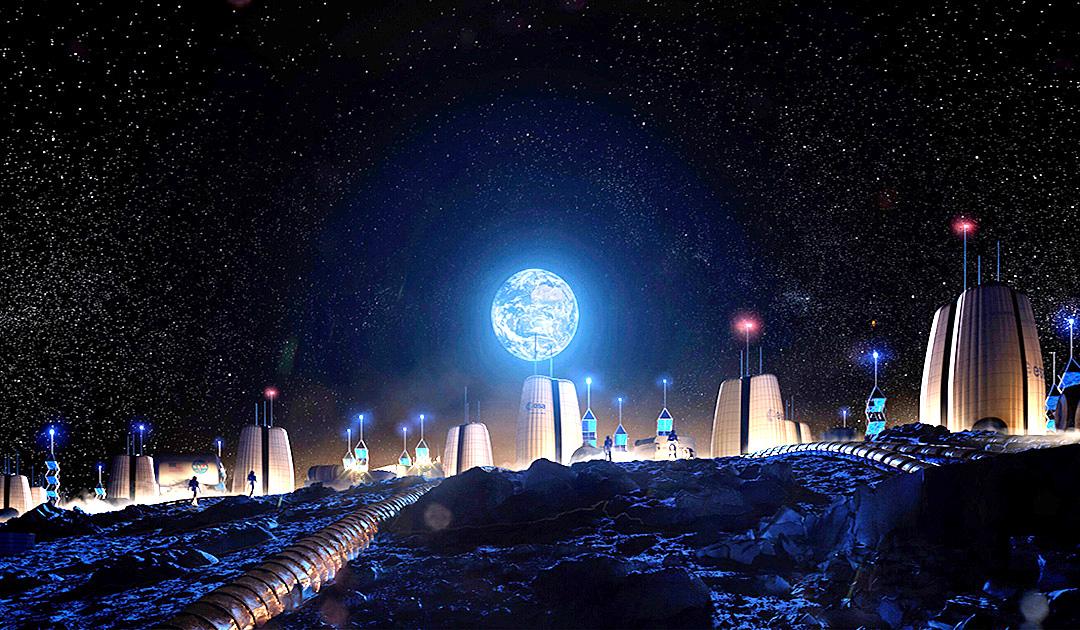 Siedlung am Südpol des Mondes geplant