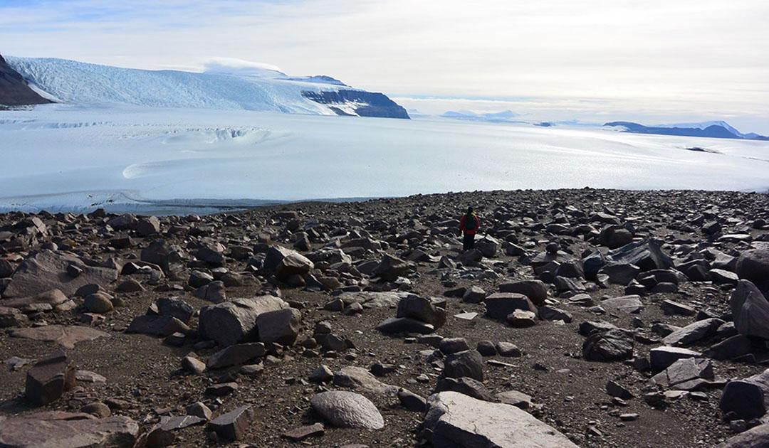Antarktische Böden ohne jegliches Leben