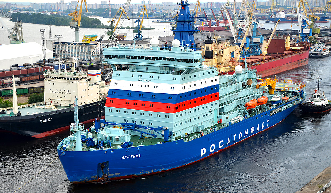 "Drive motor of icebreaker ""Arktika"" replaced"