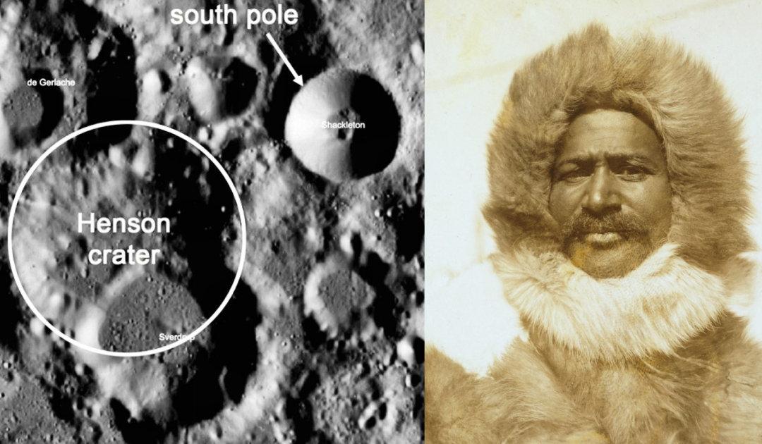 Krater am Mond-Südpol benannt nach US-Arktisforscher