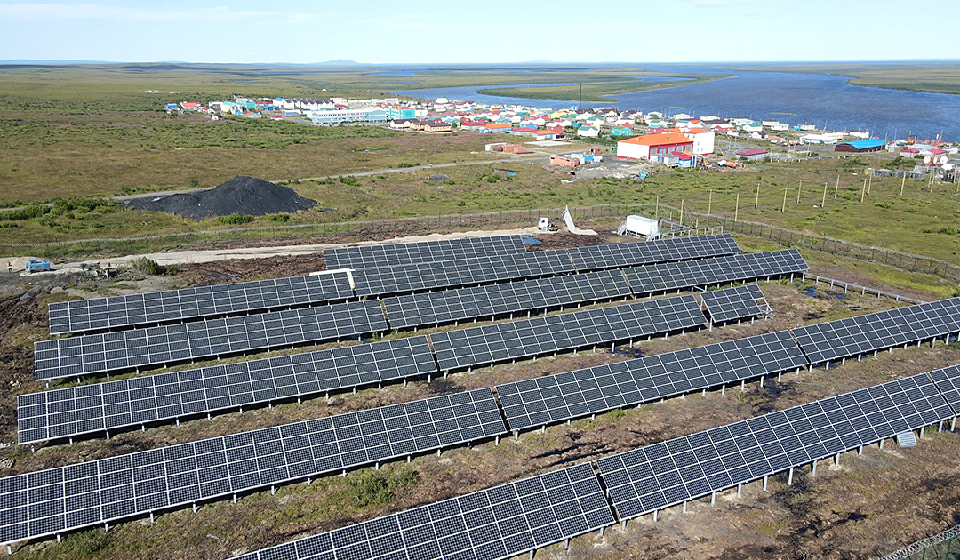 Commissioning of solar power plants in Chukotka