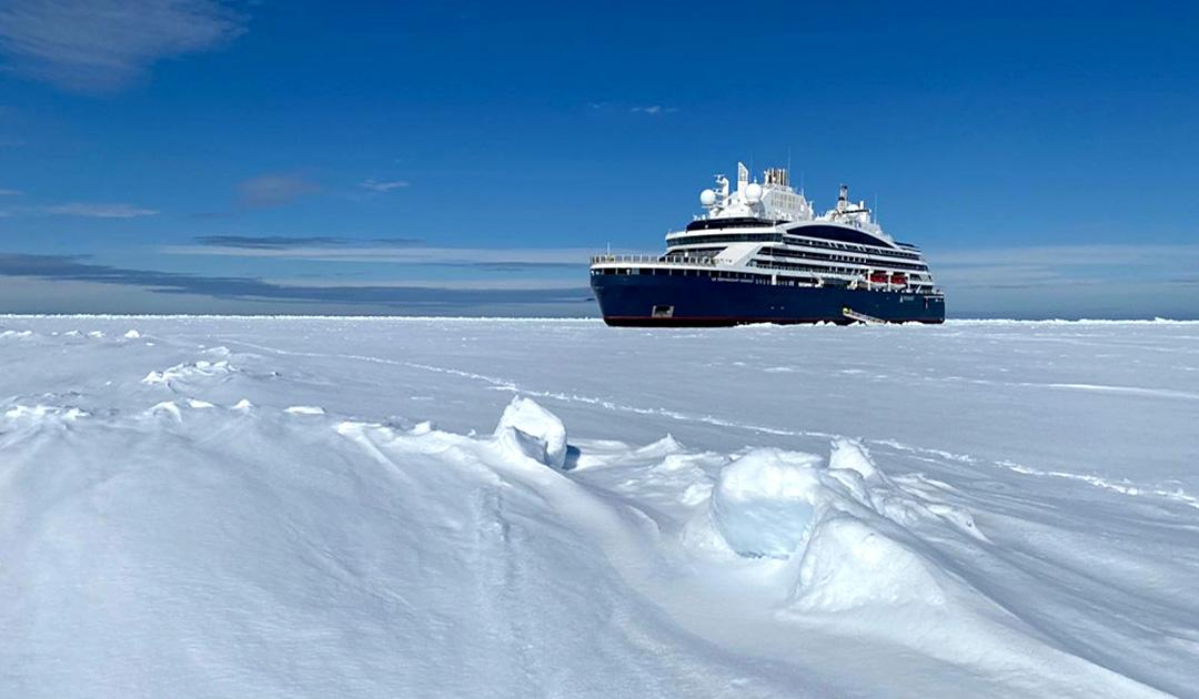 """Le Commandant Charcot"" reached the North Pole"